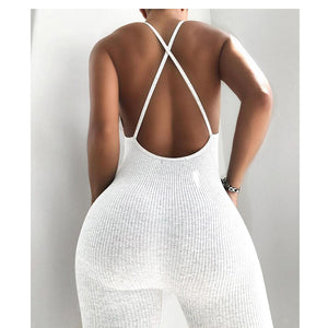 Viladress Women Jumpsuit Summer Jumpsuit Sleevless US Women Jumpsuit