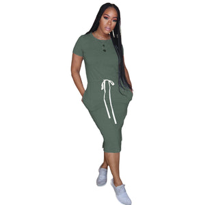 Viladress Women MIdi Dress Sweat Dress