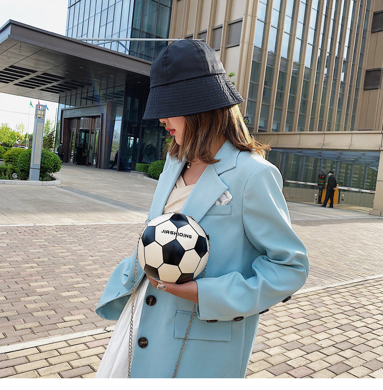 Viladress 2020 Fashion Football Shape Women Handbag Women Bag