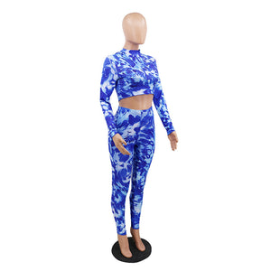 Viladress Women Crop Tops and Skinny Pants outfits