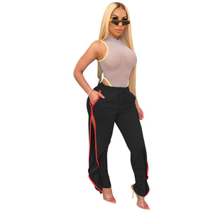 Viladress Woman Pants Split Pants Women Casual Pants