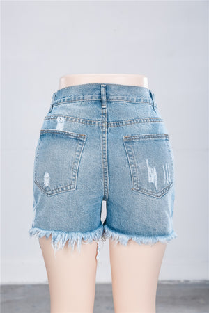 Viladress Women Shorts Denim Shorts Woman Hot Pants