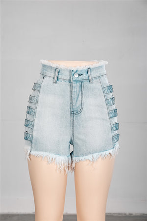 Viladress Women Hot pants Shorts Denim Summer Shorts