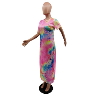 Viladress 2020 Fashion Printing Women Dress Maxi Dress
