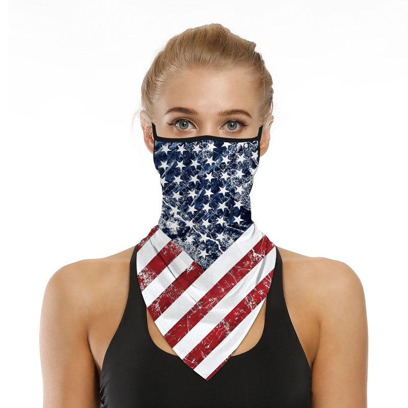 Viladress  Face Mask Unisex Face Mask National Flag Printing Face Guard