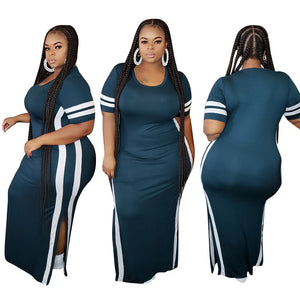 Viladress Women Dress Casual Dress Split Dress Plus size Dress