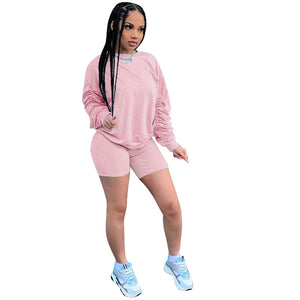 Viladress Women Hoodie and Shorts Set Women Outfits