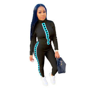 Viladress  Women Sweatsuit Skinny Tops and Women Pants Two Pieces Women Outfits