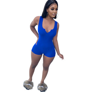 Viladress V-neck Sexy One Piece Women Romper