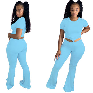 Viladress  Women Crop Tops and Yoga Pants Women Yoga Outifts Women Sweatsuit Summer Outfits