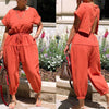 Viladress 2020 Fashion Backless One Piece Jumpsuit Women Jumpsuit