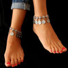 Vintage Coins Decorated Anklet