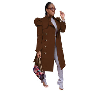 Viladress Women Outerwear Women Coat Women Wind Coat Long Trench