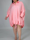 Viladress Casual dress Plus size dress plus size shirt