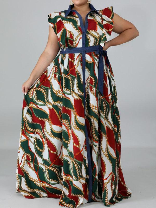 Viladress  Plus size Dress Maxi dress Sleeveless Maxi Dress