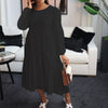 Viladress Women dRess Long Sleeves Dress Midi dress Winter Dress
