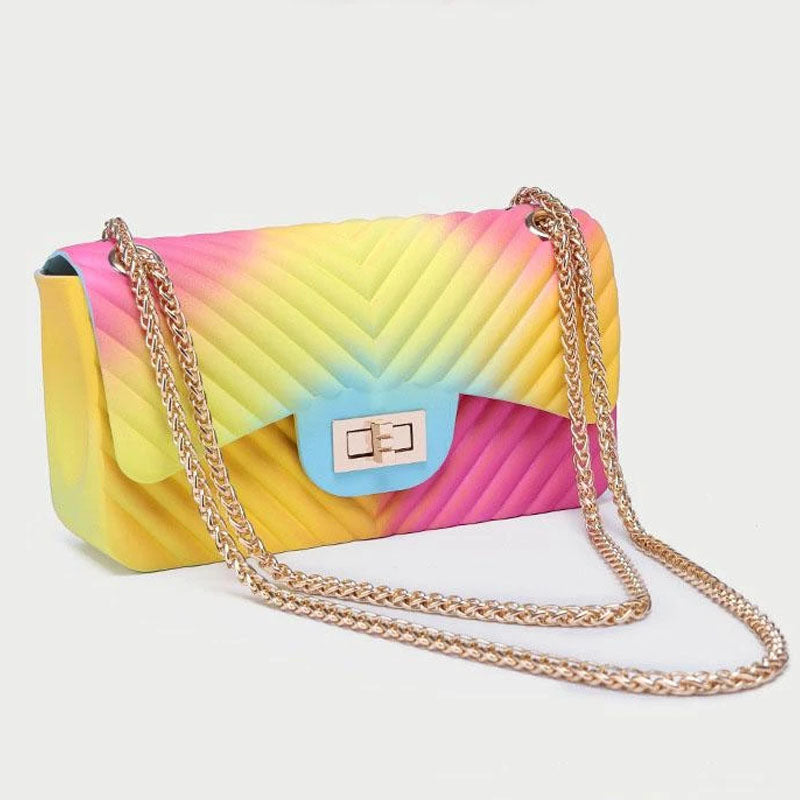 Viladress  Womeon Handbag Colors Printing Women Bag Women Purse