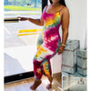 Viladress Multicolor At-home Jumpsuit One Piece Costume Women Jumpsuit