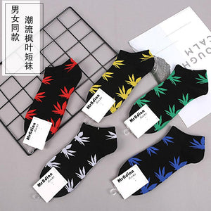 Viladress Women's socks Men's Socks Short Socks  【10 pairs=5 color*2】