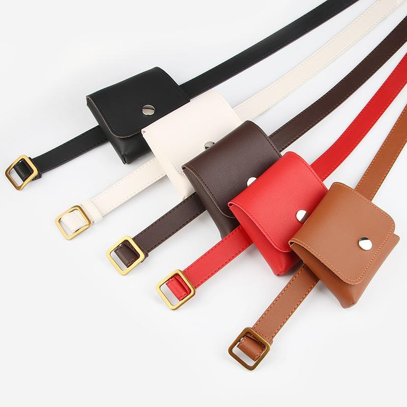 Viladress Women Belts with Handbag Fashion Belts Keys Bag