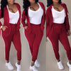 Viladress Hooded Tops and Sweat Pants Set