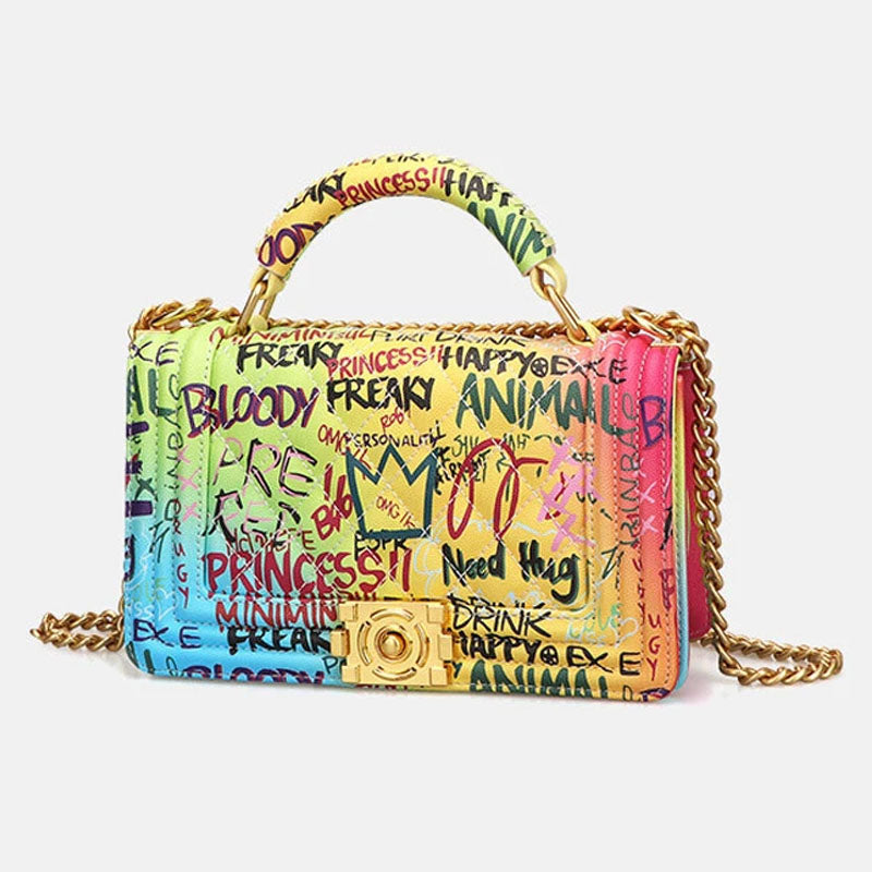 Viladress  DIY Colorful Women Bag Women Handbag