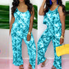 Viladress Printing Women Jumpsuit Strap Jumpsuit Summer Jumpsuit