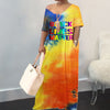 Viladress Multicolors Prining Women Maxi Dress
