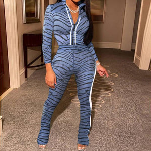 Viladress 2020 Women Outfits US Women Sweatsuit Two Pieces Outfit