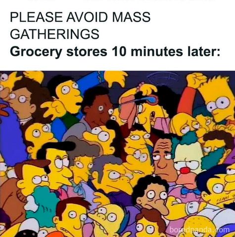 Grocery after lockdown