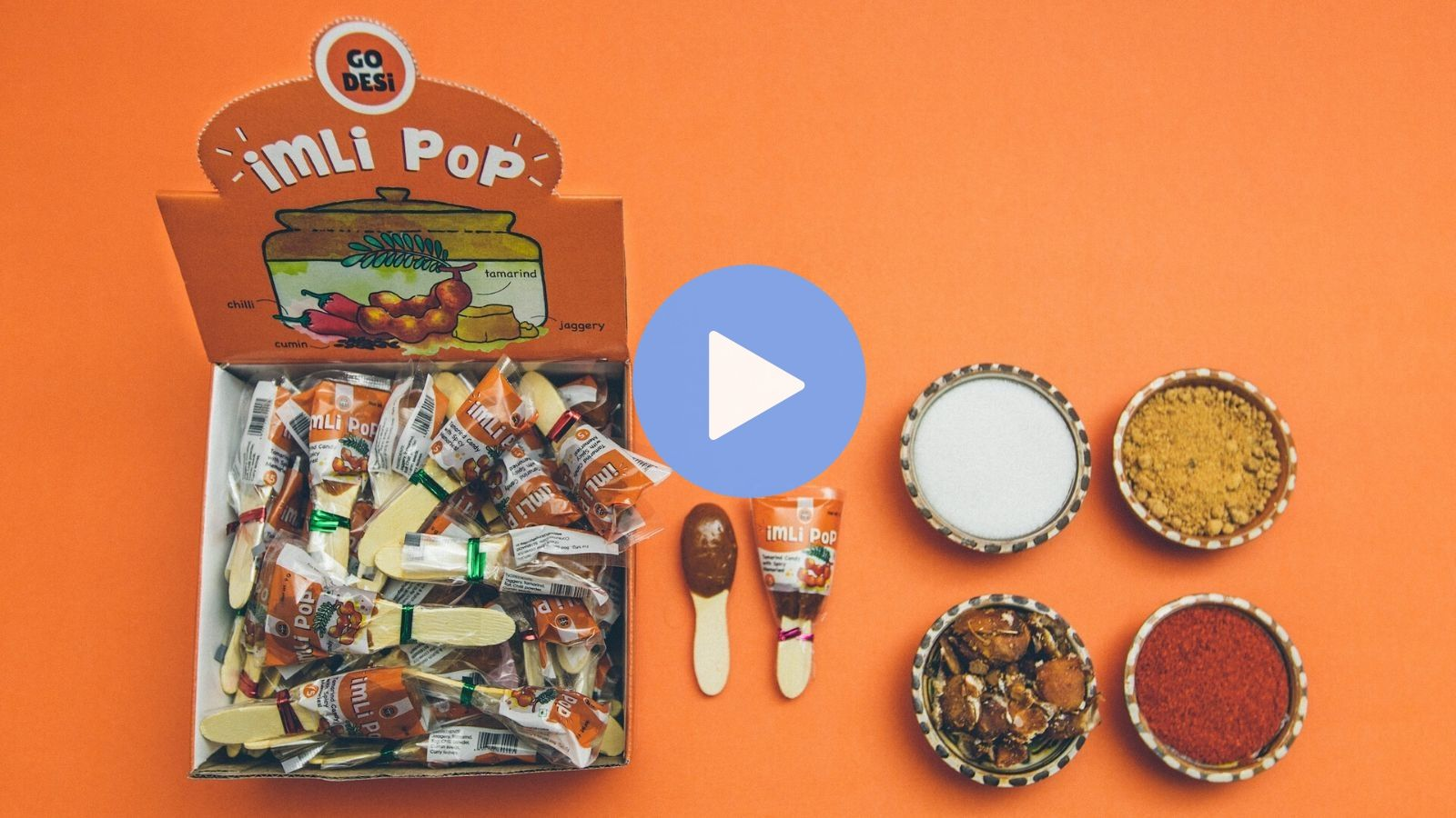 GO DESi - Imli pop Handmade with love