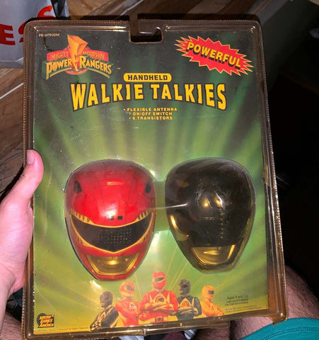 7 Iconic 90s Toys That Every 90s Kid Loved - Walkie-Talkie