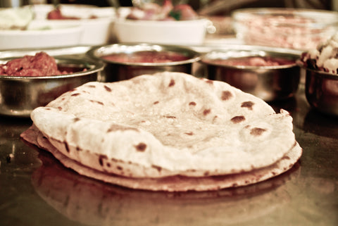 Puffed Indian Style Chapati