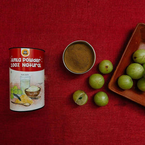 Amla Powder- Made with Natural Amla