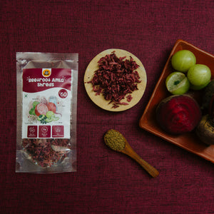 GO DESi - Beetroot Amla Shreds