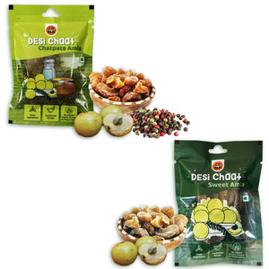 DESi Chaat Combo- Chatpata Amla ( Pack of 5 ) & Sweet Amla ( Pack of 5 )