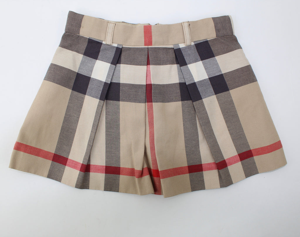 BURBERRY PLEATED SKIRT SIZE 4Y