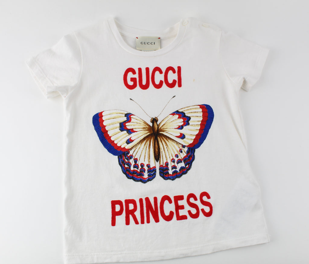 GUCCI PRINCESS  BABY T SHIRT SIZE 24m