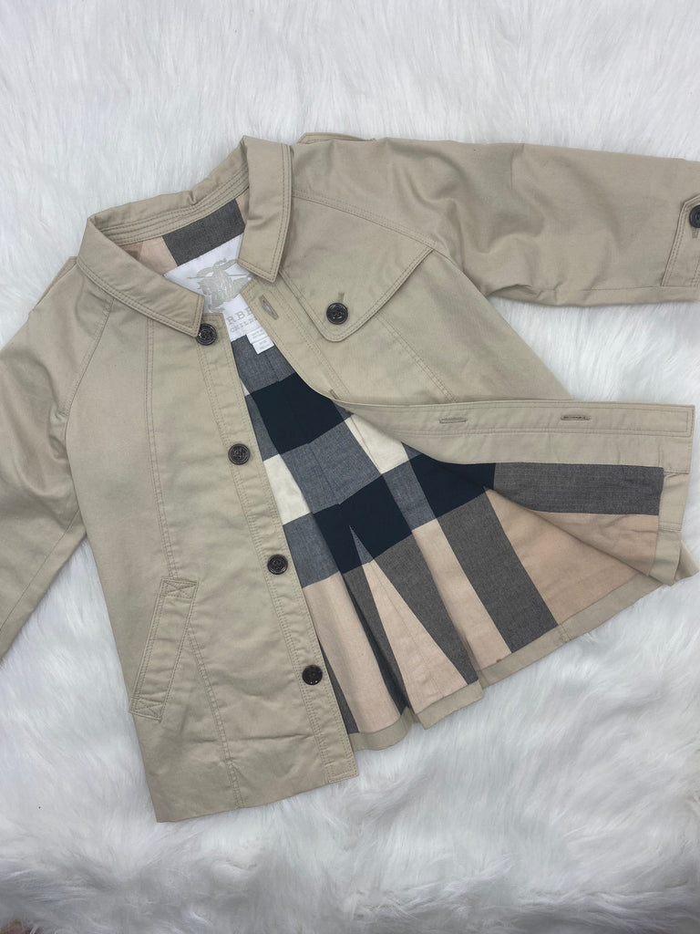 Burberry kids jacket size 12 months