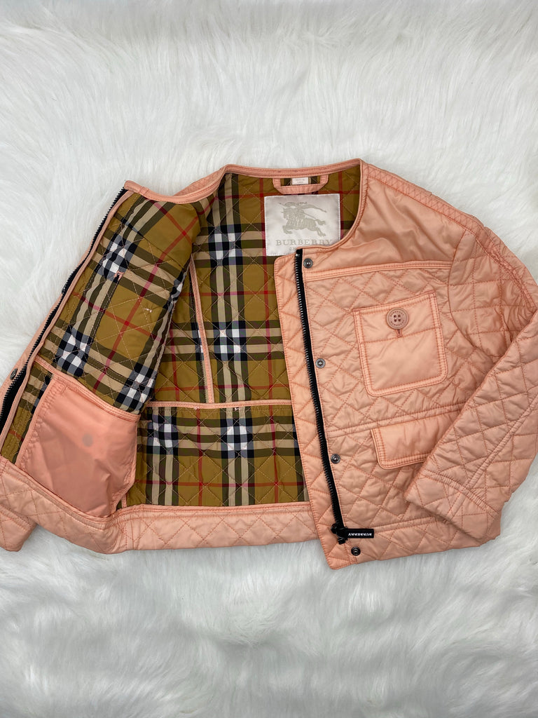 BURBERRY GIRLS TOLLAMO QUILTED JACKET SIZE 4y