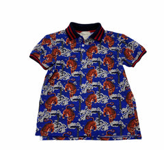 Gucci boys blue tiger shirt size 10y