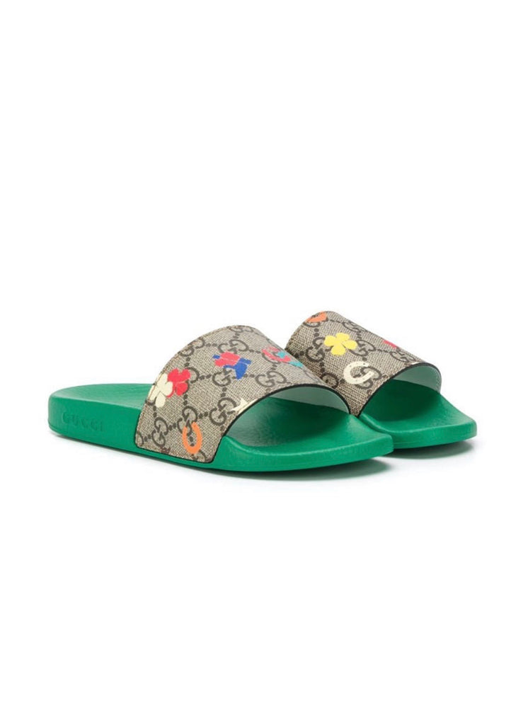 Gucci kids slides size 30/13y