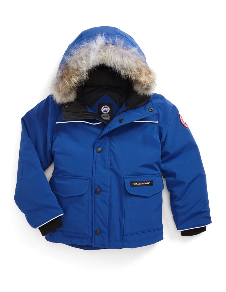 Canada Goose boys size 6/7 Small with detachable fur