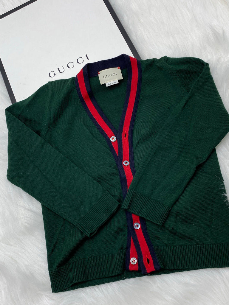 Gucci cardigan size 24 months