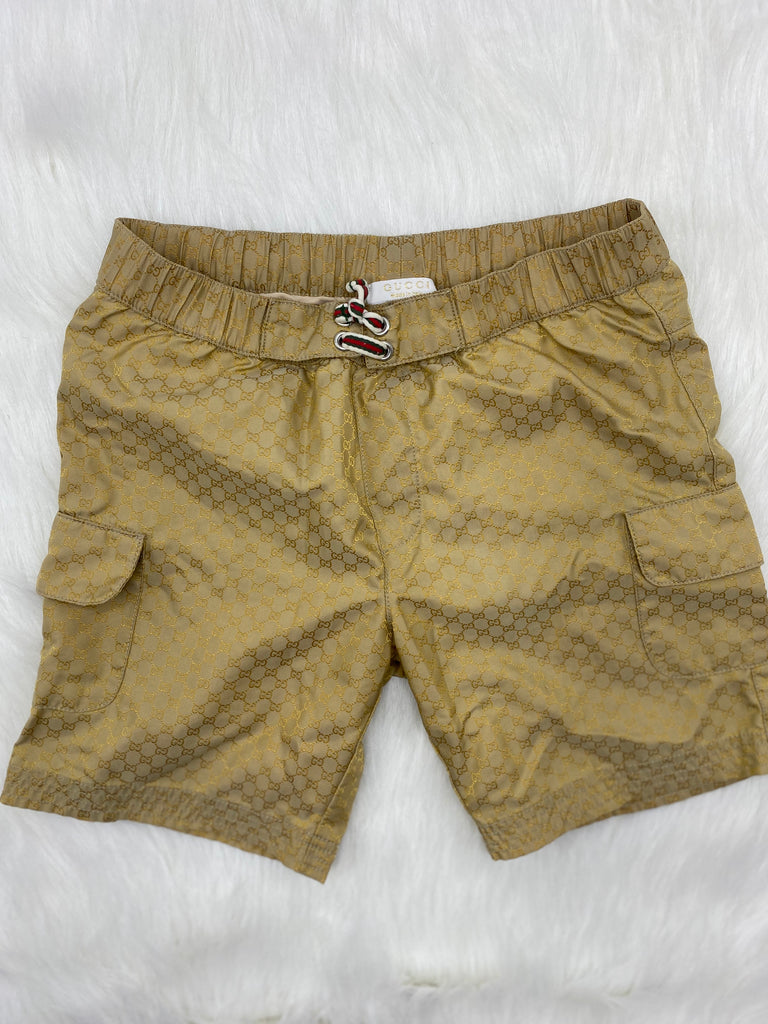 Gucci kids GG print trunks size 36 months
