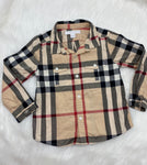 Burberry button up size 2y