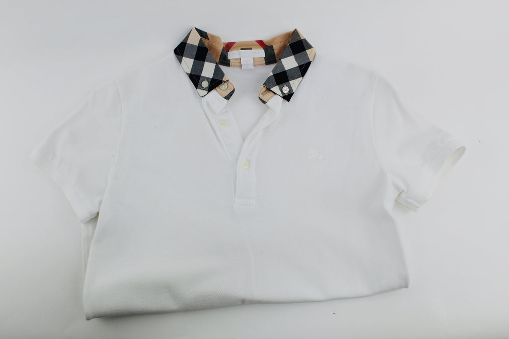 BURBERRY BOYS POLO SHIRT SIZE 12