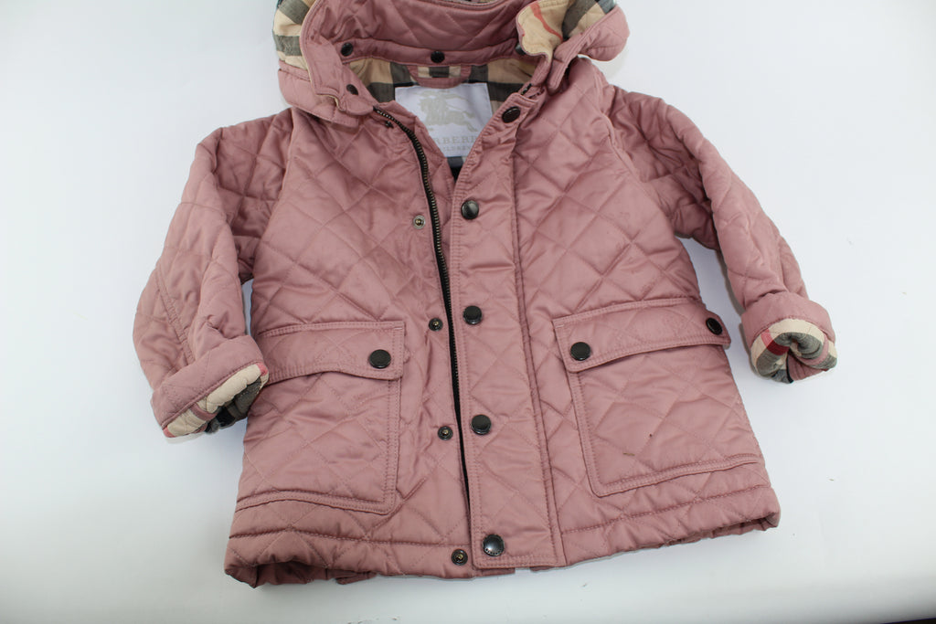 Burberry quilted jacket size 24 months