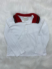 Gucci kids polo L/S shirt size 36 months