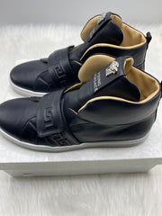Versace kids hightop velcro strap shoes size 40/ us 7